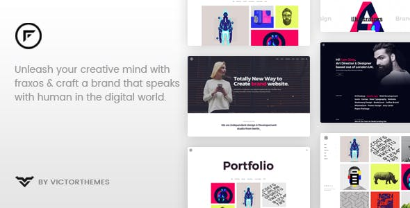 WordPress Portfolio Themes from ThemeForest