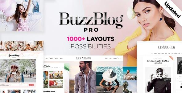 BuzzBlog - Massive Multi-Purpose WordPress Blog Theme