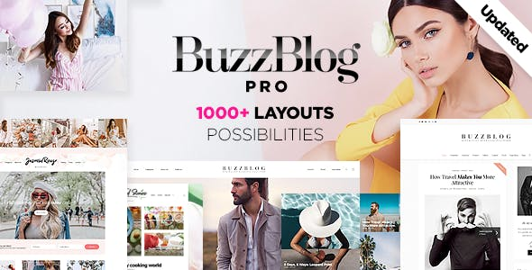 Image result for buzzblog theme