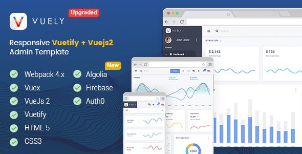 Vue Admin Templates From Themeforest