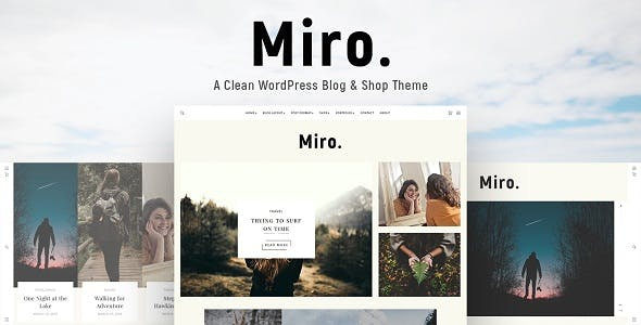 Personal WordPress Blog Themes from ThemeForest