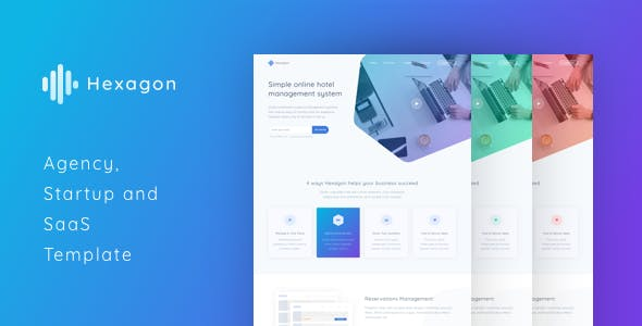 Responsive HTML Technology Website Templates from ThemeForest