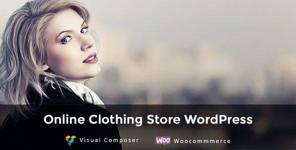 Aha Shop WordPress Theme for Fashion Clothing Store
