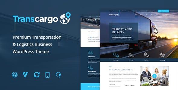 Transcargo - Transport WordPress Theme for Transportation, Logistics and Shipping Companies