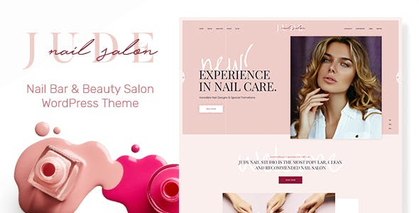 Nail Design Templates From Themeforest