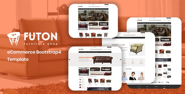eCommerce Furniture Template Free Download | Envato Nulled
