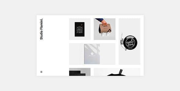 Flamini - Studio Agency Portfolio Elementor WordPress Theme by tommusrhodus 2052ea6187