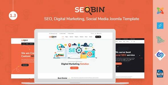 download SeoBin | SEO, Digital Marketing, Business Joomla Template