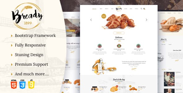 Chocolate Templates from ThemeForest