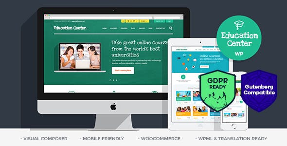 Education Center   Training Courses WordPress Theme by ThemeREX