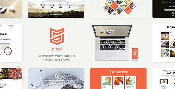 Pixel   A Modern Multi-Purpose WordPress Theme