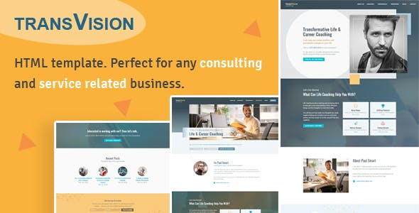Professional Corporate HTML Website Templates From ThemeForest - Professional templates