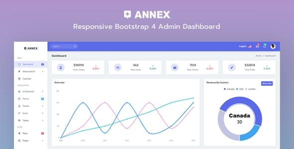 Annex - Admin Dashboard + Crypto Dashboard by Mannat-Themes