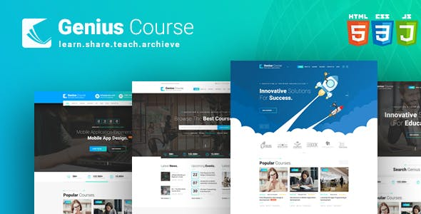 E-learning Templates from ThemeForest