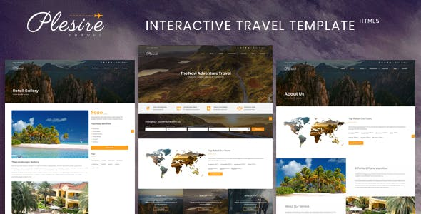 Interactive Website Templates from ThemeForest