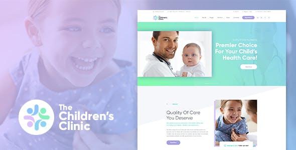 Pediatrics wordpress themes from themeforest the childrens clinic wordpress theme altavistaventures Choice Image