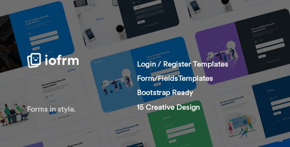Profile Page Templates From ThemeForest