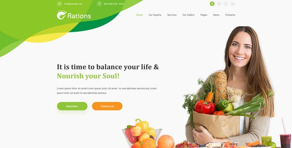 health amp wellness templates from themeforest