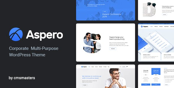 Corporate wordpress theme templates from themeforest aspero business wordpress theme accmission Images