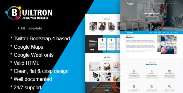 advertising templates from themeforest