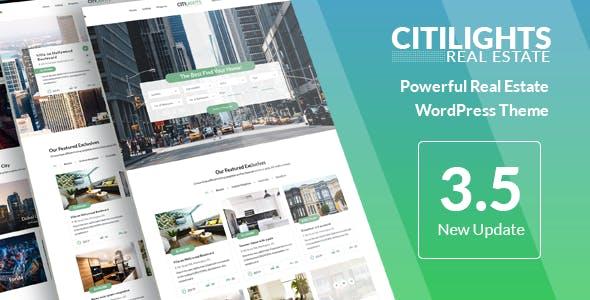 CitiLights - Real Estate WordPress Theme