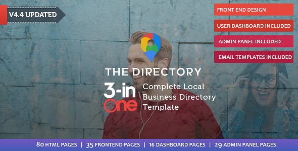 Directory website templates from themeforest the directory directory listing template cheaphphosting Image collections