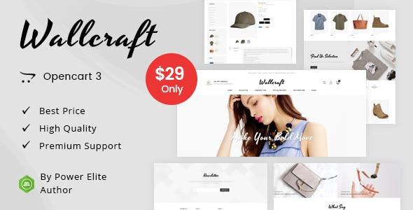 Wallcraft - Multipurpose OpenCart 3 Theme free theme download