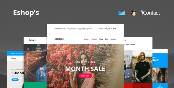Mailchimp Templates from ThemeForest