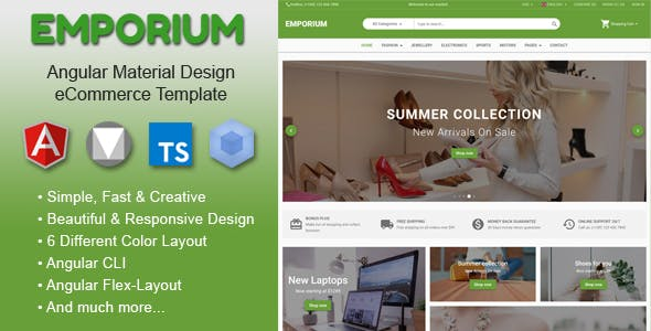 Angular HTML Website Templates From ThemeForest - Basic html website template