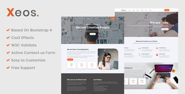 Ie8 Website Templates from ThemeForest