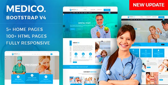 MediCo.- Hospital and Doctor Clinic HTML Template
