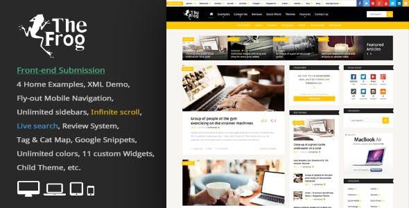 3 Column WordPress Themes from ThemeForest