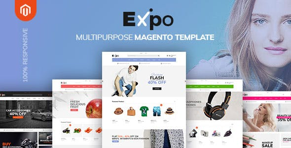Fashion store templates from themeforest expo multipurpose responsive magento2 theme fashion electronics auto cosmetic food maxwellsz