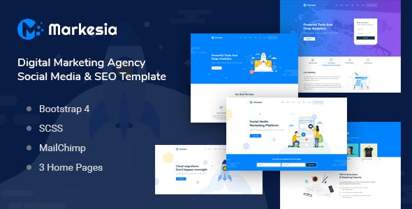 cpa html website templates from themeforest