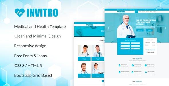 Pharmacy html website templates from themeforest invitro medical and health html template maxwellsz
