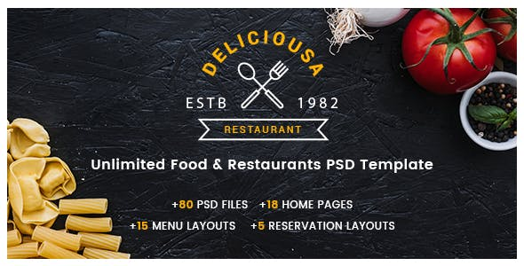 asian food templates from themeforest