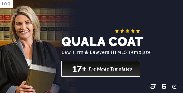 Law Firm Templates From ThemeForest - Law firm templates