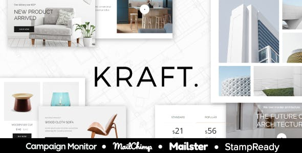 Interior Design Email Templates From Themeforest