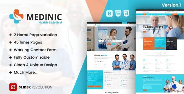 Pharmacy html website templates from themeforest medinic medical multi purpose responsive html5 template maxwellsz