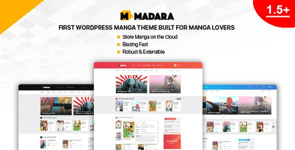 Anime Templates from ThemeForest