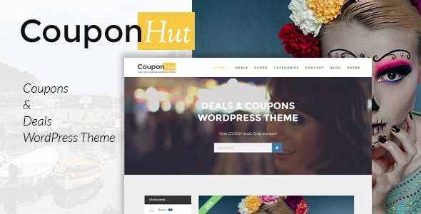 Coupons Theme WordPress Website Templates from ThemeForest