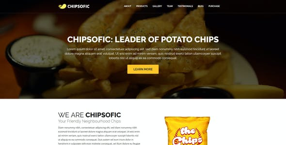 French Fries Templates From Themeforest
