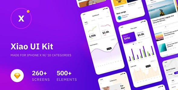 2019's Best Selling Sketch App Templates