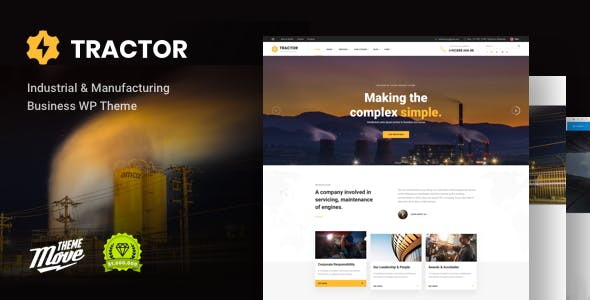 Tractor Website Templates From Themeforest