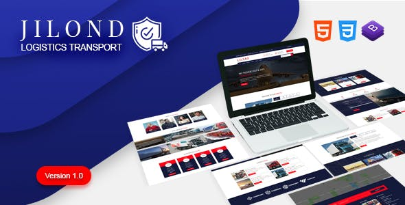 Jilond - Transportation and Logistics HTML5 Template