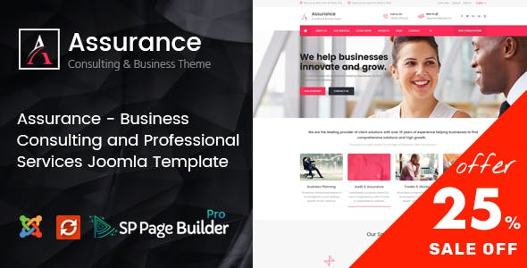 Joomla templates from themeforest assurance business consulting and professional services joomla template flashek Images
