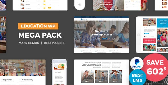 Education Pack by nicdark   ThemeForest
