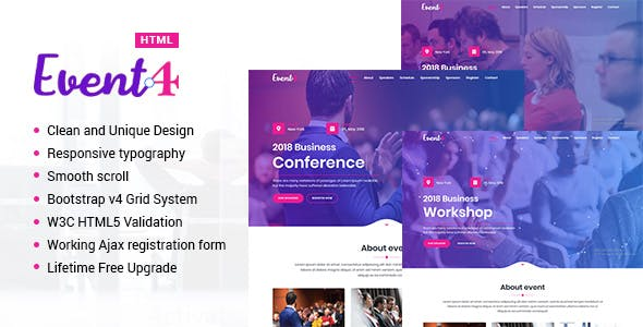 Landing Pages & Templates from ThemeForest on