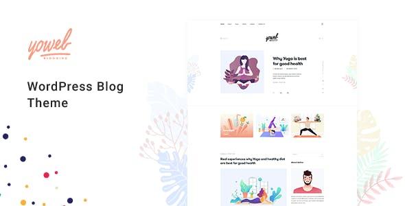 Yowel - Creative Yoga Blog WordPress Theme