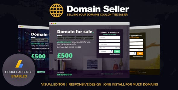 Php website templates from themeforest domain seller domain for sale php landing page maxwellsz